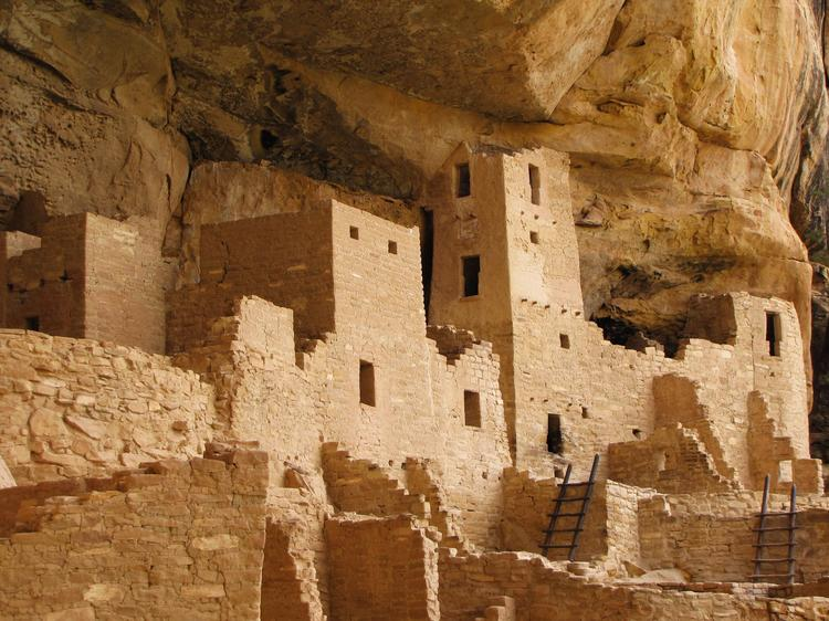 Mesa Verde National Park, known for its many ancient cliff dwellings, drew 572,329 visitors in 2012 and is the only place in Colorado on the United Nation's World Heritage list.