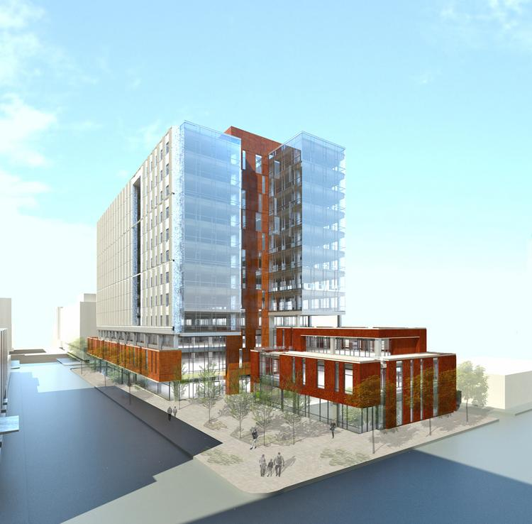 Construction of phases seven and eight of Amazon's headquarters in Seattle will begin by January 2014, developer Vulcan Inc. said Friday. Phase seven, shown here, is on the east side of Ninth Avenue North between Republican and Harrison streets.