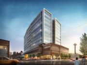 The eighth phase of Amazon's headquarters campus will be on the west side of Ninth Avenue North, between Harrison and Thomas streets.