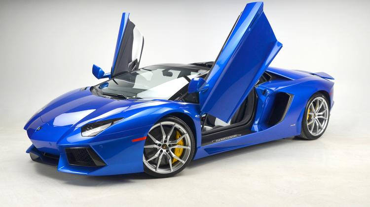 The Most Expensive Car Sold This Year At STL Motorcars In Chesterfield Is A  2015 Lamborghini