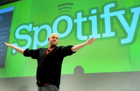 Daniel Ek, chief executive officer of Spotify Ltd.