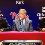 MacPhail begins his new job as Phillies president