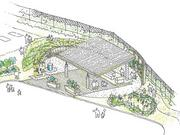 A rendering of the Capital Area Food Bank's outdoor classroom.