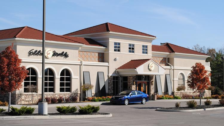 Eddie Merlot's freestanding restaurant. The chain is going to open in Gateway Center in downtown Pittsburgh.