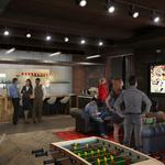 Here's what Cordish's millennial-geared collaborative workspace at Power Plant Live will look like