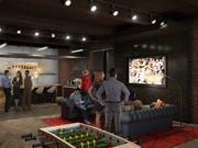 Spark's kitchen will feature a craft beer and gourmet coffee bar and plenty of space for mingling.