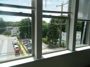 A view of King Street in Malvern from Eastside Flats.