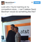 Who all is 'All In' with Sprint? <strong>David</strong> <strong>Beckham</strong>, that's who