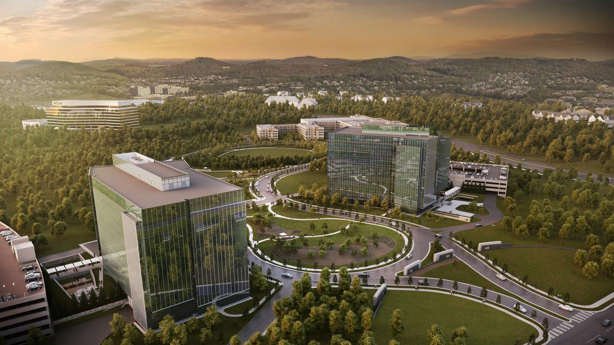 First look: Pat Emery breaking ground this fall on another Cool Springs office building - Nashville Business Journal