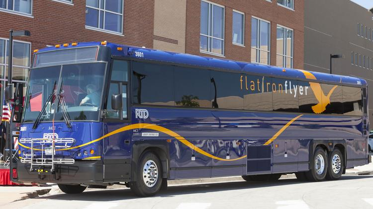 The Regional Transportation District S New Flatiron Flyer Buses Will Carry Pengers Along U 36