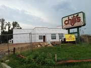 A Chili's was demolished and will now reopen soon. At the corner of Gulph Road and DeKalb Pike.