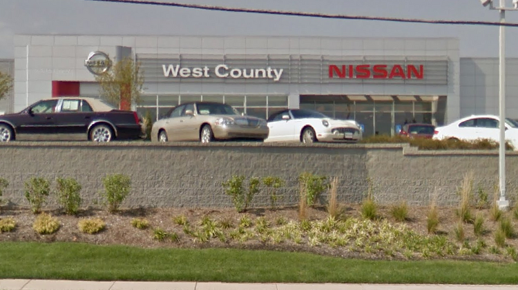 West County Nissan, At 14747 Manchester Road, In 2012.