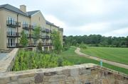 The view off the back veranda of Salamander Resort, which is situated on 340 acres.