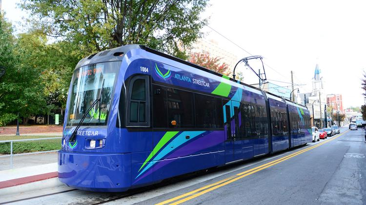 atlanta streetcar project Atlanta leaders heralded the city's planned streetcar as a boon to downtown starting in 2013, the streetcar would ferry passengers from centennial olympic park.