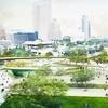 Inside the Lakefront Gateway designs: AECOM's 'Hanging Gardens' takes cues from Olmsted's Lake Park