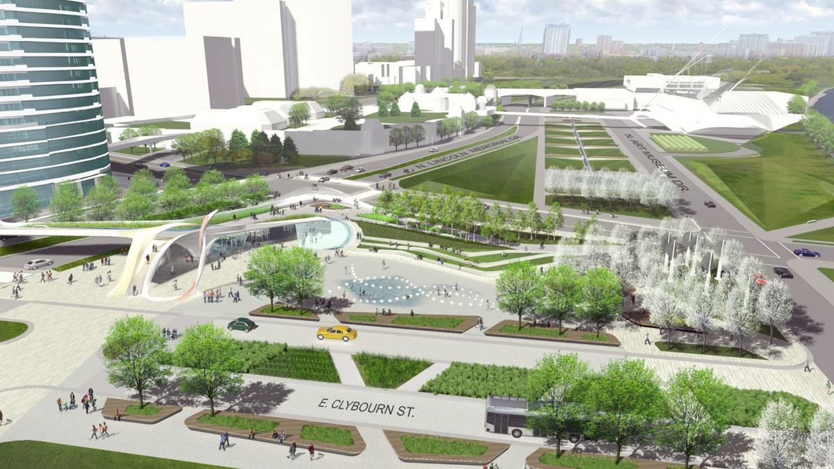 Inside The Lakefront Gateway Designs Graef Features Water