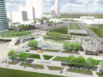 The Lakefront Gateway designs: Graef vision features water in motion