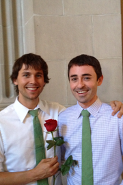 "Tony Ring-Dowell (left) and Kevin Ring-Dowell, shortly after they were married June 28 at San Francisco city hall. ""It feels so much more real, just to be legally married,"" Tony Ring-Dowell said."