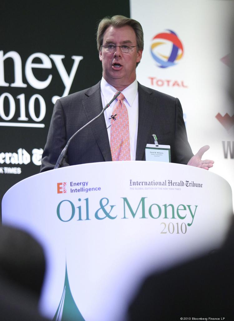 David Williams, CEO of Noble Corp., shown in this 2010 file photo, said Monday the company intends to move its place of incorporation to the United Kingdom.
