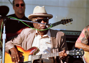 1987: John Lee Hooker. How did I get to be so damn old without ever seeing John Lee Hooker? I even know a guy — John Mazzocco — who played with John Lee Hooker. John Lee Hooker's cool. I'm a loser.