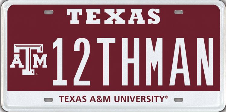 Houston attorney Tony Buzbee landed the exclusive Texas A&M University 12THMAN license plate with a record bid in a month-long auction held by MyPlates.com.