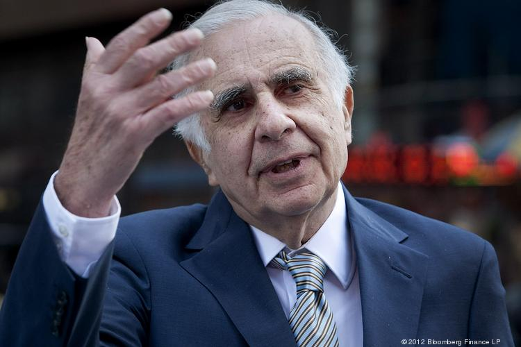 Carl Icahn is urging Apple to return some dough to shareholders.