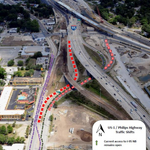 Shuttered exits raise concerns on Philips Highway