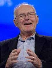 #10: Intel cofounder Gordon Moore and his wife Betty made no sizeable individual political contributions in 2012. He lives in Woodside and is worth an estimated $4.1 billion.