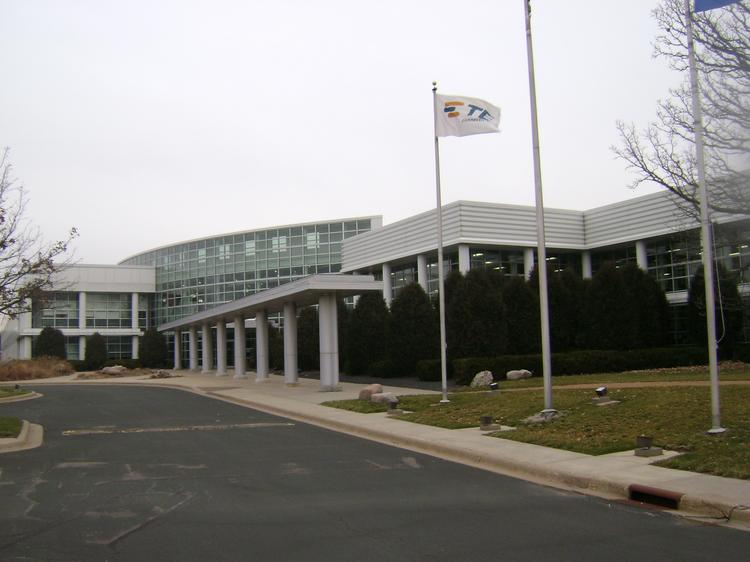 Minnetonka-based Datacard confirmed its plans to move its headquarters to this 370,000-square-foot building near Canterbury Park in Shakopee that TE Connectivity is selling.