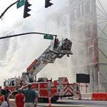 Whiskey Row fire damage still being assessed; Main Street reopens