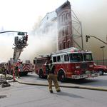 Stabilization on track for fire-damaged Whiskey Row structures