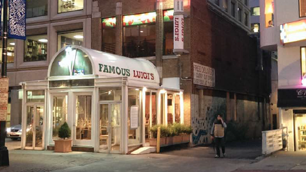 The Longtime Home Of Famous Luigi S Restaurant Between Dupont Circle And Farragut Square Has Been Sold