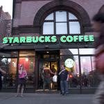 Starbucks CEO tells baristas to be 'sensitive' to customers after stock market roller coaster