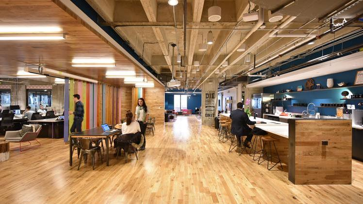 WeWork Is A Provider Of Loft Office Space To Entrepreneurs.