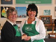 Lynn Stan, left, and Heidi Maybruck started Celebrate Local at Easton Town Center in 2011. They will be opening a second store at Liberty Center in the fall.