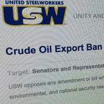 United Steelworkers launches campaign to keep crude oil export ban
