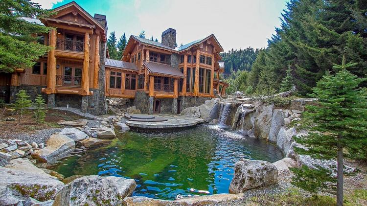 Patti payne 39 s cool pads techie looks to sell epic 3m for Selling a log home