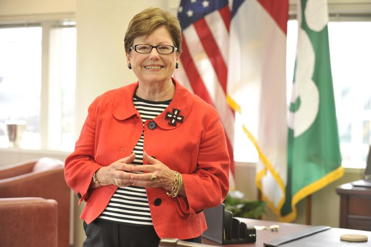 Mayor Patsy Kinsey closed out Monday night's Charlotte City Council meeting with comments about the ongoing legal battle over control of Charlotte Douglas International Airport.