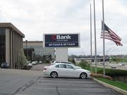 CBank's sign along I-71 has 140,000 cars a day driving past it.