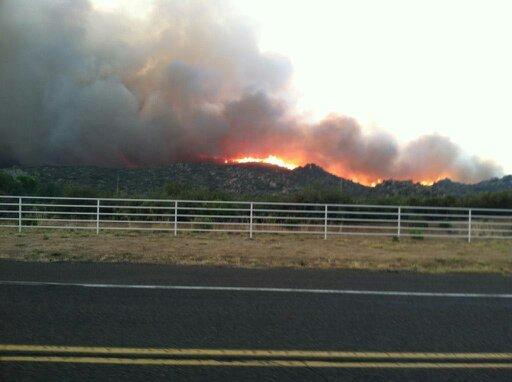 The Yarnell Hill Fire.