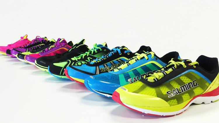 Swedish shoe brand Salming (which also manufactures apparel) wants to race to the top of a running industry dominated by Nike in one arena and Brooks in another.