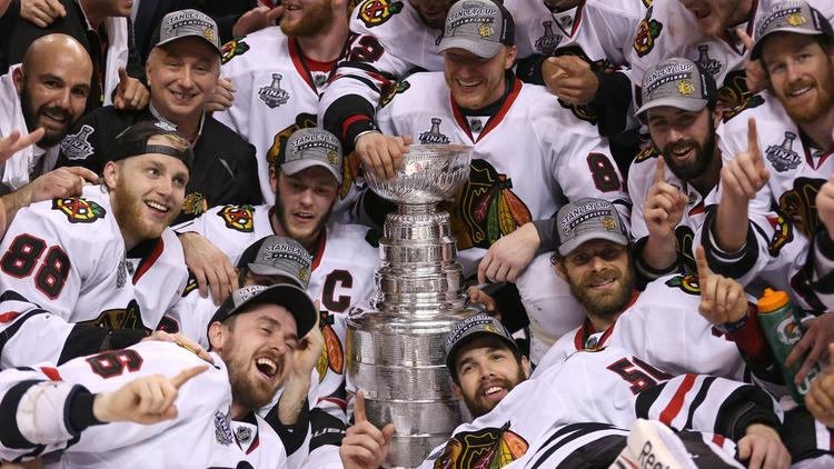 The Chicago Blackhawks did not bring home the Stanley Cup this year, and WMAQ-Channel 5 is feeling the effect.