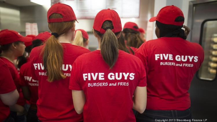 ​Two more Five Guys Burgers and Fries restaurants in Greater Cincinnati closed.
