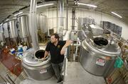 Lucid Brewing used Kickstarter to help raise money for its opening, hitting its target of $10,500. But Biermann (pictured) says the crowdfunding website primarily helped to drum up awareness the fledgling operation. The money didn't even cover half the cost of one fermenting tank.