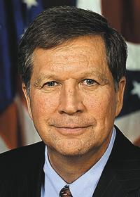 Ohio Gov. John Kasich looks to boost funding to municipalities for infrastructure improvements.