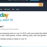 Amazon Prime Day deals start July 15