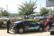 The Chevrolet Volt purchased by Consol as part of a pilot to evaluate adding electric vehicles to its fleet.