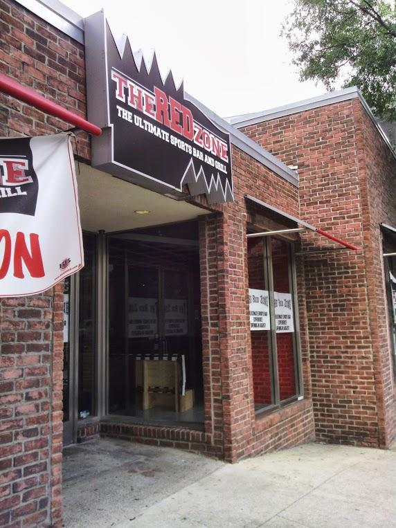 Red Zone, a new bar and grill across 20th Street South from the Five Points South Chick-fil-A, is undergoing renovations now.