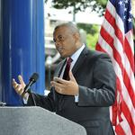 Former Charlotte mayor <strong>Anthony</strong> <strong>Foxx</strong> sued for $421,000