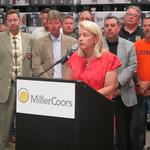 MillerCoors, We Energies, union leaders announce support for arena deal